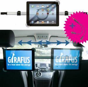 Girafus Tablet Halterung Kfz Auto Kopfstütze Rücksitz 9 10 11 Zoll iPad Galaxy