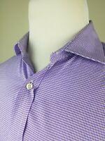 Thomas Mason BR Banana Republic Mens M Purple Button Down L/S Shirt Slim Fit