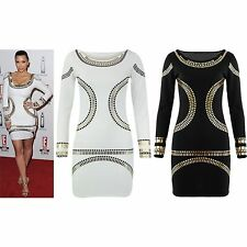 Polyester Party Long Sleeve Tunic Dresses for Women