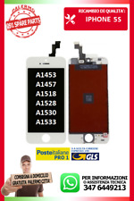 LCD TOUCH SCREEN SCHERMO DISPLAY PER IPHONE 5S BIANCO A1453 A1457 A1518 A1528