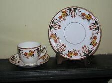 VINTAGE, Royal Stafford Cina, floreale Trio di tazza, piattino e piastra laterale 5057