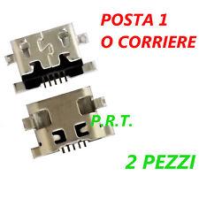 CONNETTORE RICARICA ( 2 pezzi )  MICRO USB PER Huawei Ascend G7 -L01, G7-L03