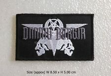Dimmu Borgir Patch Sew Iron On Black Metal Rock Band Embroidered Decorate DIY