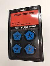 (4) Dodge Hub Cap/Wheel Center Emblems Vinyl Medallions
