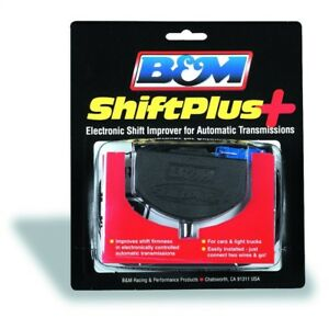 B&M 70380 ShiftPlus Electronic Shift Improver Automatic Transmission Shift Kit