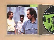 CD / JEAN JACQUES GOLDMAN / INTEGRALE N°7 / UN, DEUX, TROIS / 89-90 / TB ETAT