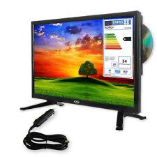 Camping TV 18,5 zoll Fernseher HD LEDTV mit DVD, HD Triple Tuner DVB-S2/T2/C