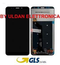TOUCH SCREEN VETRO + LCD DISPLAY Per XIAOMI REDMI 5 PLUS NOTE 5 NERO