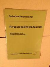 Audi 100 C2 ? Niveauregulierung 1977 Selbststudienprogramm (Reparaturleitfaden)