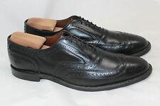 Mens Allen Edmonds 'McAllister' Wingtip Oxford Cap Toe - Black Size 10 B (R57)