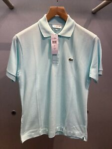 Lacoste Classic Polo Mens Size 11 Uk 6 XL Col Peppermint RRP£85.00