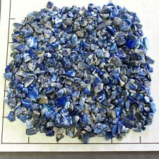 LAPIS LAZULI Chips Afghanistan 5-15mm 1/2 lb bulk stones semi-tumbled