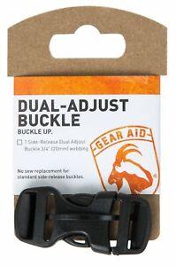McNett Gear Aid Dual Adjust Buckle Kit 20mm