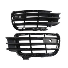 Pair Front Right Left Bumper Outer Lower Grille Cover For 2011- 2014 VW Touareg