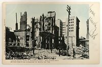 San Francisco CA After Fire Disaster April 18 1906 Union Club Post & Stockton St