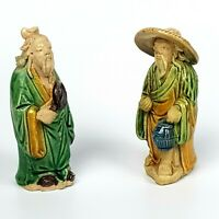 Porcellana Cinese Statuina Cina Arte Orientale Porcellane Orientali old coppia