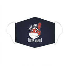 Long Live Chief Wahoo wearing face mask Cleveland Indians Face mask