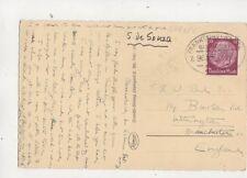 Frankfurt Basel Bahnpost Z 961 Railway Postmark 27 Aug 1938 550b