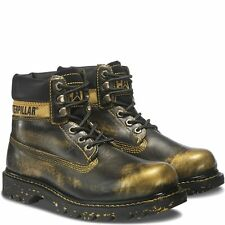 """CAT COLORADO 6"""" BOOT Womens SHOES SIZE 8.5 CATERPILLAR GOLD NEW IN BOX"""