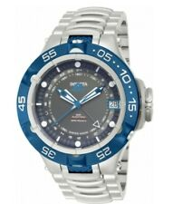 INVICTA 12877 MENS LIMITED EDITION 50/500 SUBAQUA GMT AUTOMATIC STAINLESS STEEL