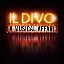 IL DIVO - A MUSICAL AFFAIR CD ALBUM (2013)