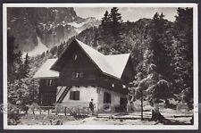 UDINE MALBORGHETTO VALBRUNA 03 RIFUGIO ATTILIO GRECO CAI TRIESTE Cartolina 1936