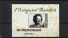 The Gambia 2013 MNH Margaret Thatcher In Memoriam 1v S/S Death People