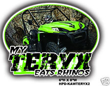 Kawasaki Teryx Decal Sticker Graphics 750 UTV ATV QUAD