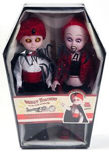 Mezco Living Dead Dolls The Great Zombini Magician + Assistant Double Set 99953