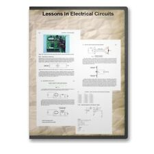 Lessons In Electrical Circuits 6 Vol 2500+ Pg Electronics Course + Bonuses CD F5