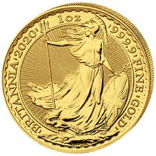 Großbritannien - 100 Pfund 2020 - Britannia - Anlagemünze - 1 Oz Gold ST