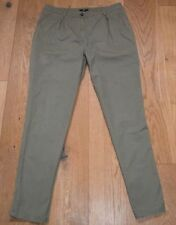 H&M Cotton Mid Rise Tapered Trousers for Women