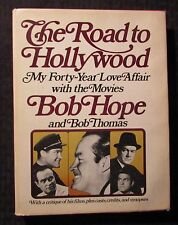 1977 THE ROAD TO HOLLYWOOD by Bob Hope HC/DJ FN+/VG+ Doubleday