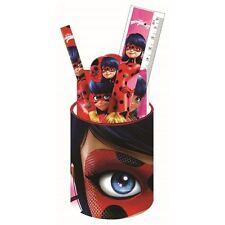 Pot à crayons Miraculous Ladybug + set de papeterie
