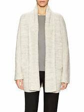 V639 NWT VINCE WOOL SHAWL COLLAR WOMEN OPEN CARDIGAN SIZE S in WWG $495