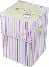 New Baby Nursery Clothes Hamper - pink  BARGAIN PRICES PERFECT GIFT..