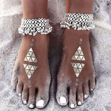 Foot Jewelry Girls Beach Chain Us Women Double Ankle Bracelet 925 Silver Anklet