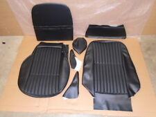 Triumph STAG ** FRONT SEAT COVER SET MK2 ** BLACK VINYL - Both seats - CAR SET!