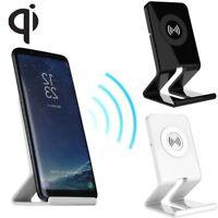 Qi chargeur sans fil de charge Pad stand pour iPhone X/8 plus Samsung note 8/S8