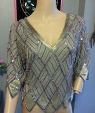 Camisas y tops vintage de mujer 100% seda