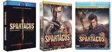 Spartacus BOX 1 2 3 4 Komplette Serie + War of the damned Blu Ray UNCUT Deutsch