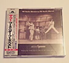 The Who – Who's Better, Who's Best: The Very Best [Japanese CD 1994] POCP-2352