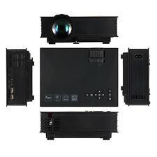E01 Mini Portable Projector 1080P Home Theater 1200 Lumens WIFI HDMI AV USB SD
