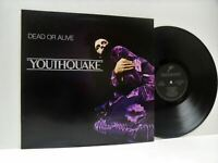 DEAD OR ALIVE youthquake LP EX/EX, EPC 26420, vinyl, album, gatefold, uk, 1985,
