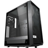 Fractal Design Meshify C BKO Tempered Glass ATX PC Case - Black - FD-CA-MESH-C-B