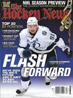 Hockey News Magazine Steven Stamkos NHL Season Preview Top 20 New Rookies 2012