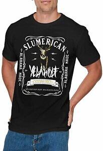 Mens Fashion Yelawolf Cool Tshirt Black