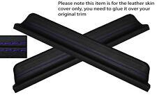 PURPLE STITCH 2X FRONT DOOR SILL TRIM SKIN COVERS FITS HONDA CIVIC 95-00 5DR