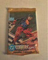 1995 SKYBOX VERSUS DC vs Marvel Comics Sealed Unopened Card Pack Superman Boy