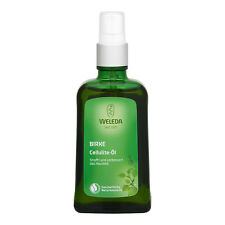 Weleda Birch Cellulite Oil 100ml (with Pump ) Personal Care Massage Oil